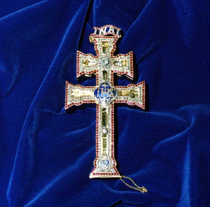 cruz de caravaca amuleto
