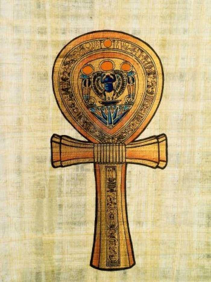 cruz de la vida egipcia amuleto